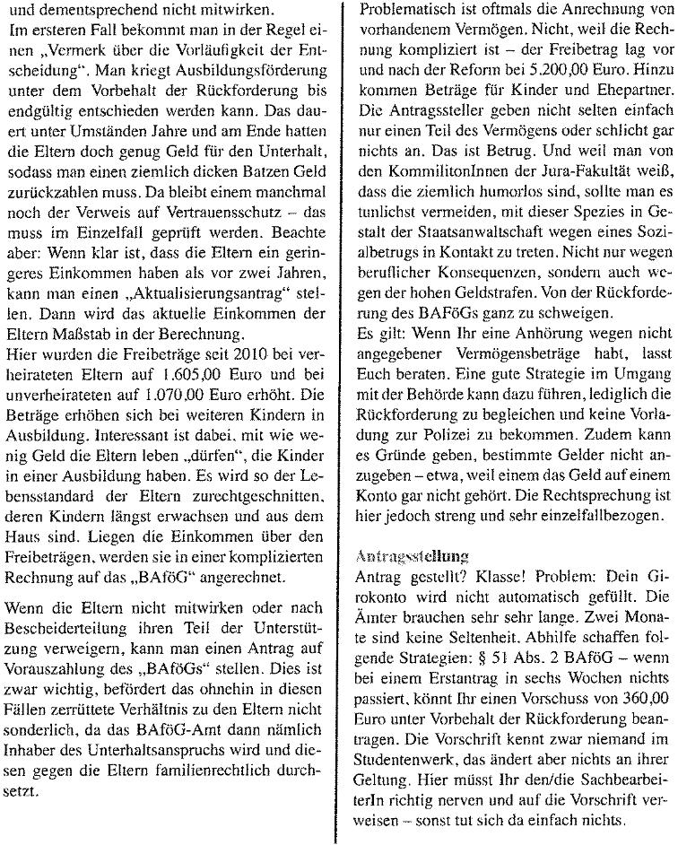 Scan vom HUCH-Artikel Seite 2