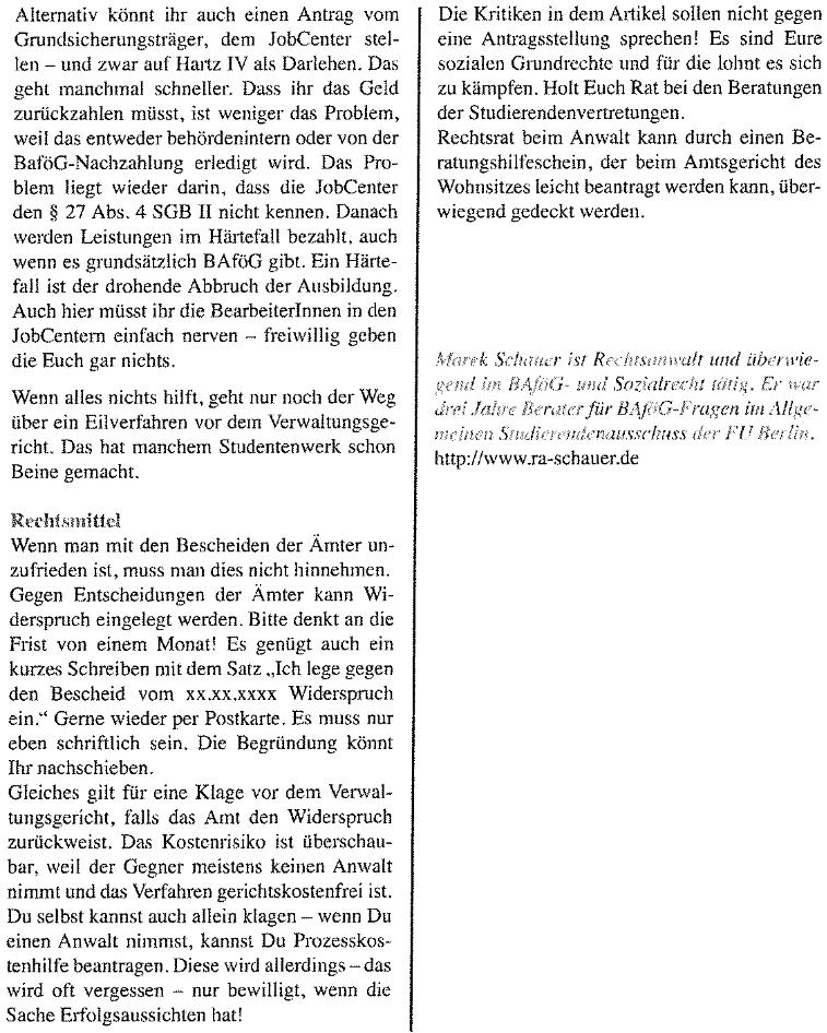 Scan vom HUCH-Artikel Seite 3